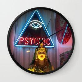 PSYCHIC Wall Clock