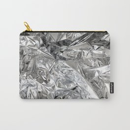 Silver Mylar Balloon Carry-All Pouch