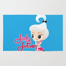 Judy Jetson Pin up style Rug