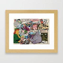 Color Scales, Plate #1 Framed Art Print