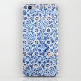 Lisbon tiles iPhone Skin
