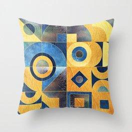 Geometric XXXXXVII Throw Pillow
