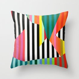 Candy Pop No1 Throw Pillow