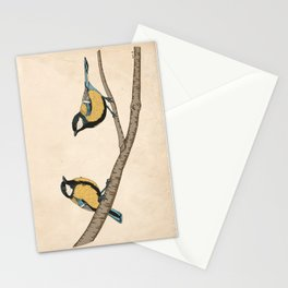 Great Tits! Stationery Cards
