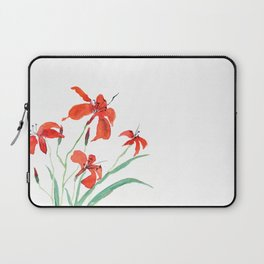 orange day lily Laptop Sleeve