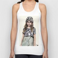 ben giles Tank Tops featuring Cara for Giles 14/15 by vooce & kat