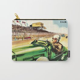 1936 Grand Prix Auto Racing Poster Advertisement - 150 Miles in Full Color Carry-All Pouch