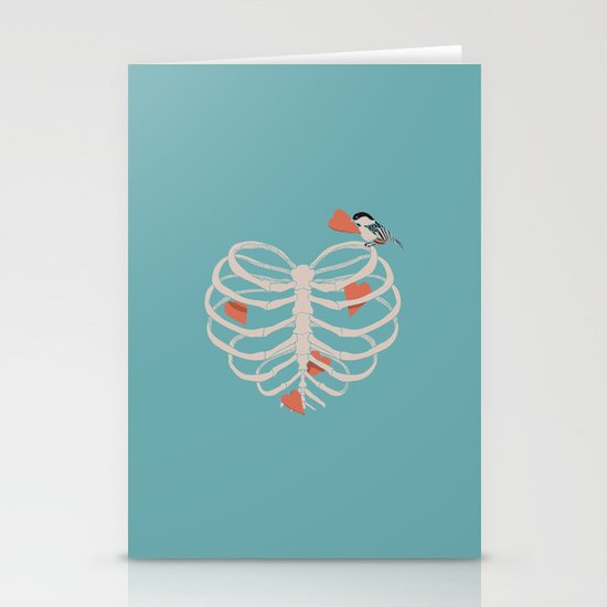 The Heart Collector Stationery Cards