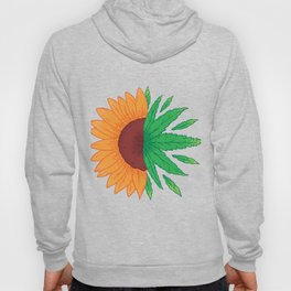 Sunflower with grass Hoody