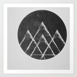 Masks & Mirrors Art Print