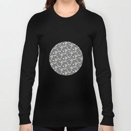 Potter Pattern Long Sleeve T-shirt