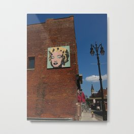Marilyn Monroe In Detroit Metal Print