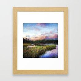 End Of The Day - Landscape Art Framed Art Print