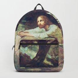 Jesus at Gethsemane Backpack