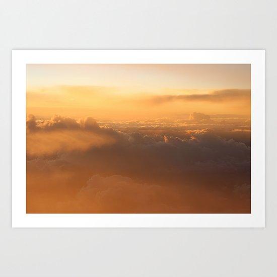 Cloud Mountains • V03 Art Print