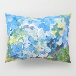 Blue Hydrangeas Pillow Sham