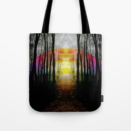 Rainbow Path To Imagination Tote Bag