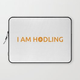 I am hodling Laptop Sleeve