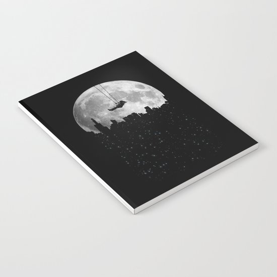 The Moon Swing Notebook