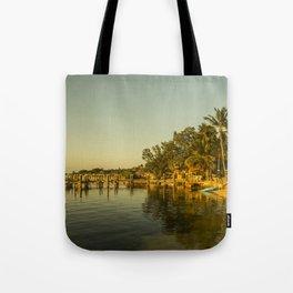 Key Largo Gold Tote Bag