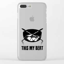This My Beat Clear iPhone Case