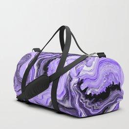 Painted Violet Duffle Bag