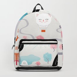 Map of Japan Backpack