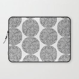 Beech in Black and White Laptop Sleeve