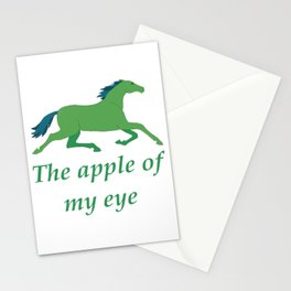 The apple of my eye  Stationery Cards