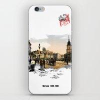 poland iPhone & iPod Skins featuring Poland, Warsaw 1890-1900 by viva la revolucion