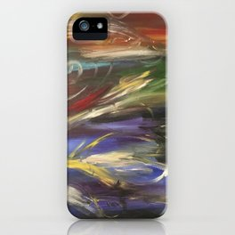 Colors in the Wind iPhone Case