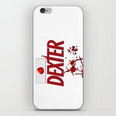 Dexter - fan art iPhone & iPod Skin