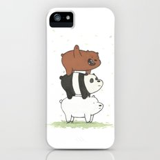 We Bare Bears by Maria Piedra Slim Case iPhone (5, 5s)