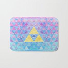 Zelda Geometry Bath Mat