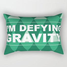 Defying Gravity! Rectangular Pillow