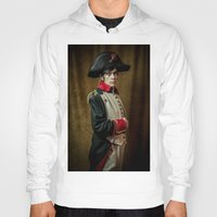 napoleon Hoodies featuring Napoleon B by SOCKIVISION Store
