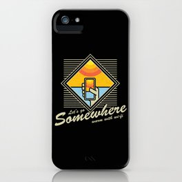 WARM WITH WI-FI iPhone Case