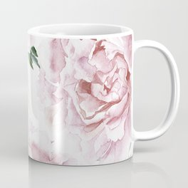 Beautiful Pink Roses Garden Coffee Mug