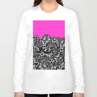 monty python Long Sleeve T-shirts featuring Python Pink by Hipsterdirtbag
