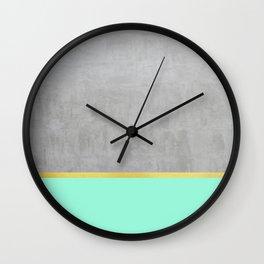 Minimalist pattern I Wall Clock