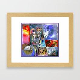 Dandy Friends Framed Art Print