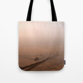 Misty Chesapeake Bay Tote Bag
