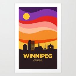 Winnipeg (Autumn) Art Print