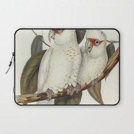 Long-billed Cockatoo (Licmetis nasicus) illustrated by Elizabeth Gould (1804-1841) for John Goulds (1804-1881) Birds of Australia (1972 Edition 8 volumes) Laptop Sleeve