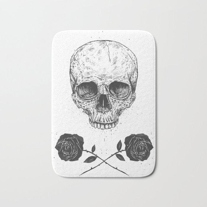 Skull N' Roses Bath Mat