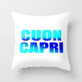 CUON CAPRI Throw Pillow