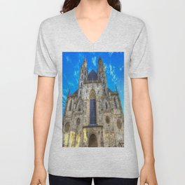 St Stephen's Cathedral Vienna Unisex V-Neck
