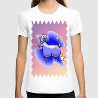 astrology T-shirts featuring Astrology, Capricorn by Karl-Heinz Lüpke