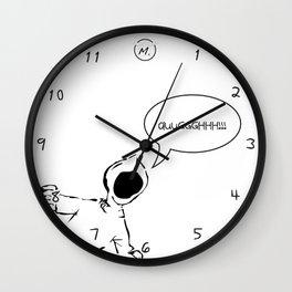 Screaming Kid Wall Clock