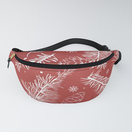 Festive Holiday Season Fanny Pack